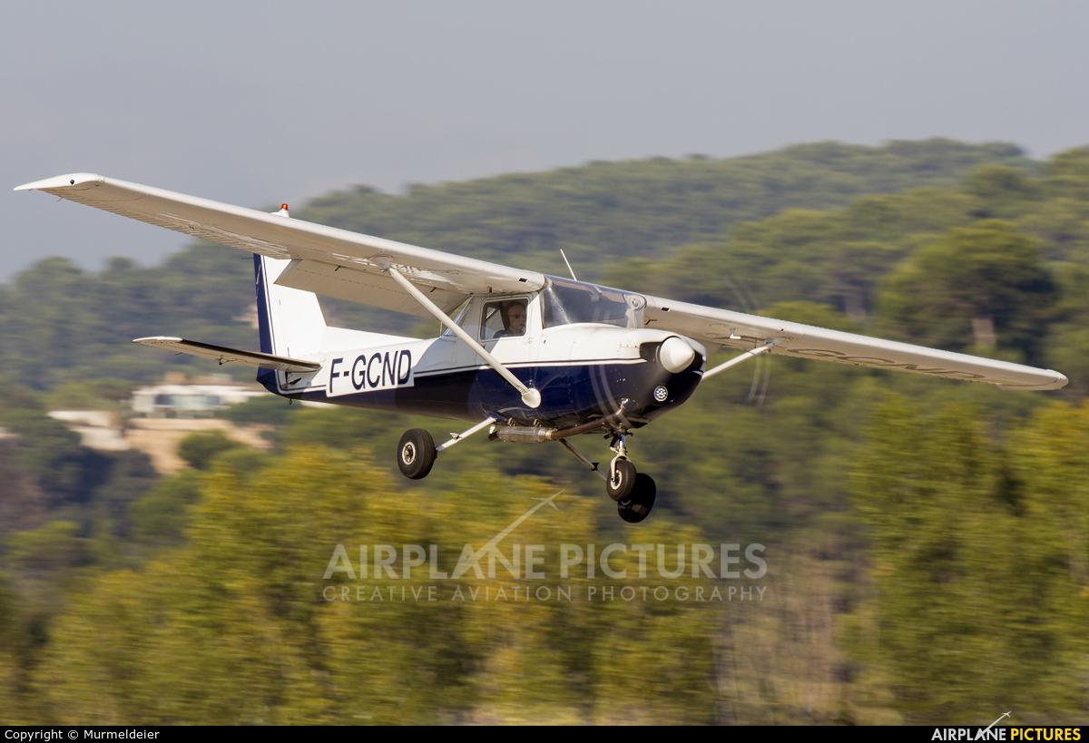 Private F-GCND aircraft at Cannes - Mandelieu