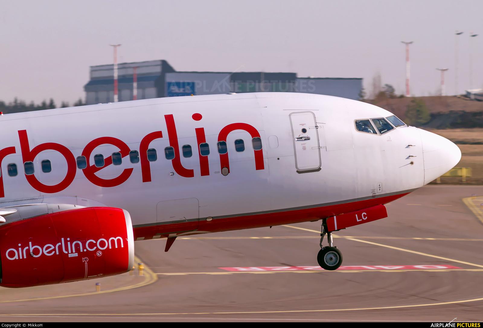 Air Berlin D-ABLC aircraft at Helsinki - Vantaa