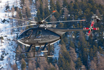 HB-ZKD - Private MD Helicopters MD-500E