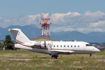 HB-JFJ - Nomad Aviation Canadair CL-600 Challenger 604