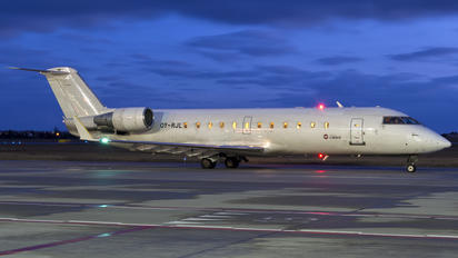 OY-RJL - SAS - Scandinavian Airlines Canadair CL-600 CRJ-200