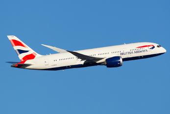 G-ZBJB - British Airways Boeing 787-8 Dreamliner