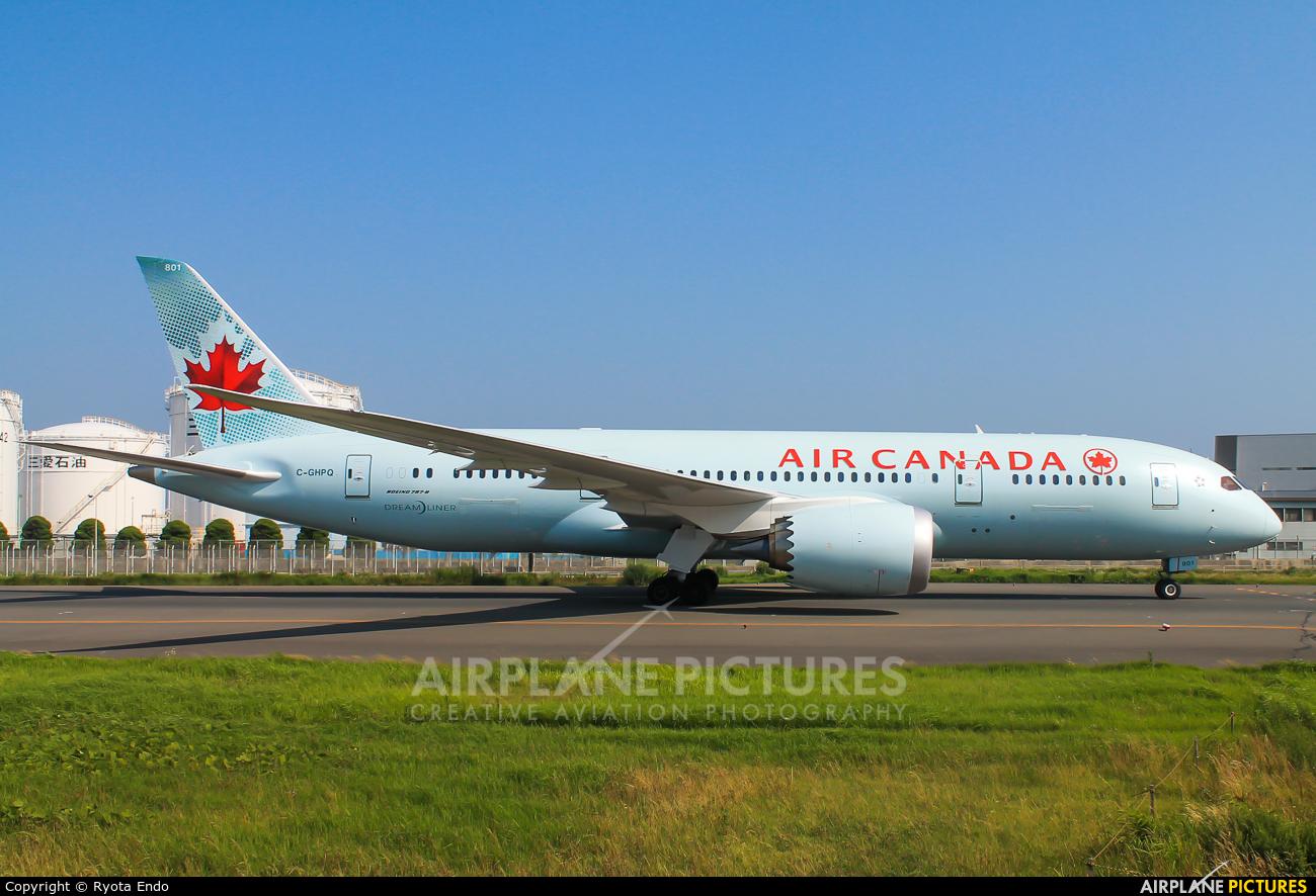 Air Canada C-GHPQ aircraft at Tokyo - Haneda Intl