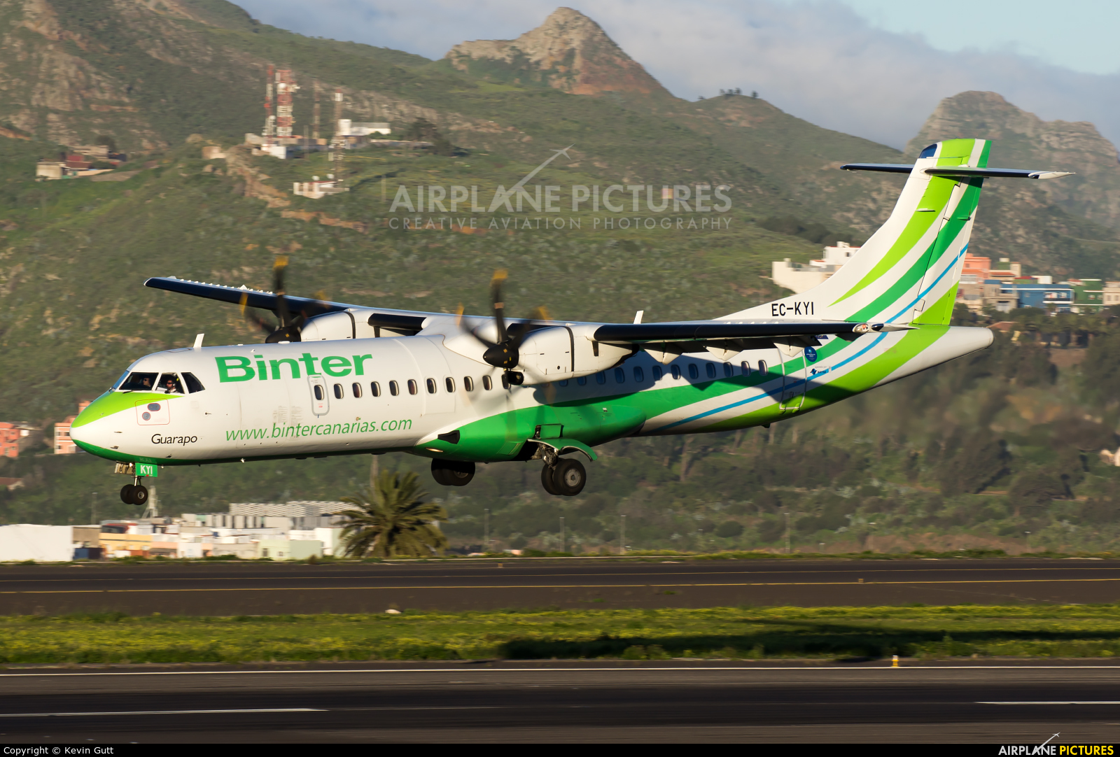 Binter Canarias EC-KYI aircraft at Tenerife Norte - Los Rodeos
