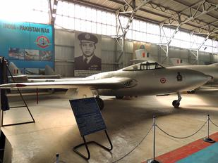 ID606 - India - Air Force de Havilland DH.115 Vampire T.11