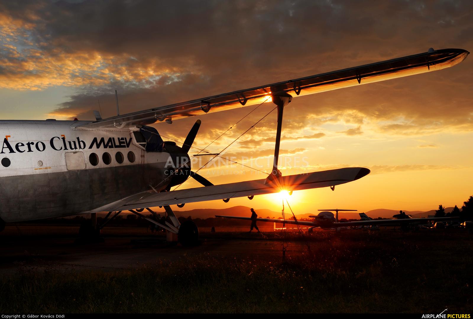 Malév Aero Club HA-YHF aircraft at Dunakeszi