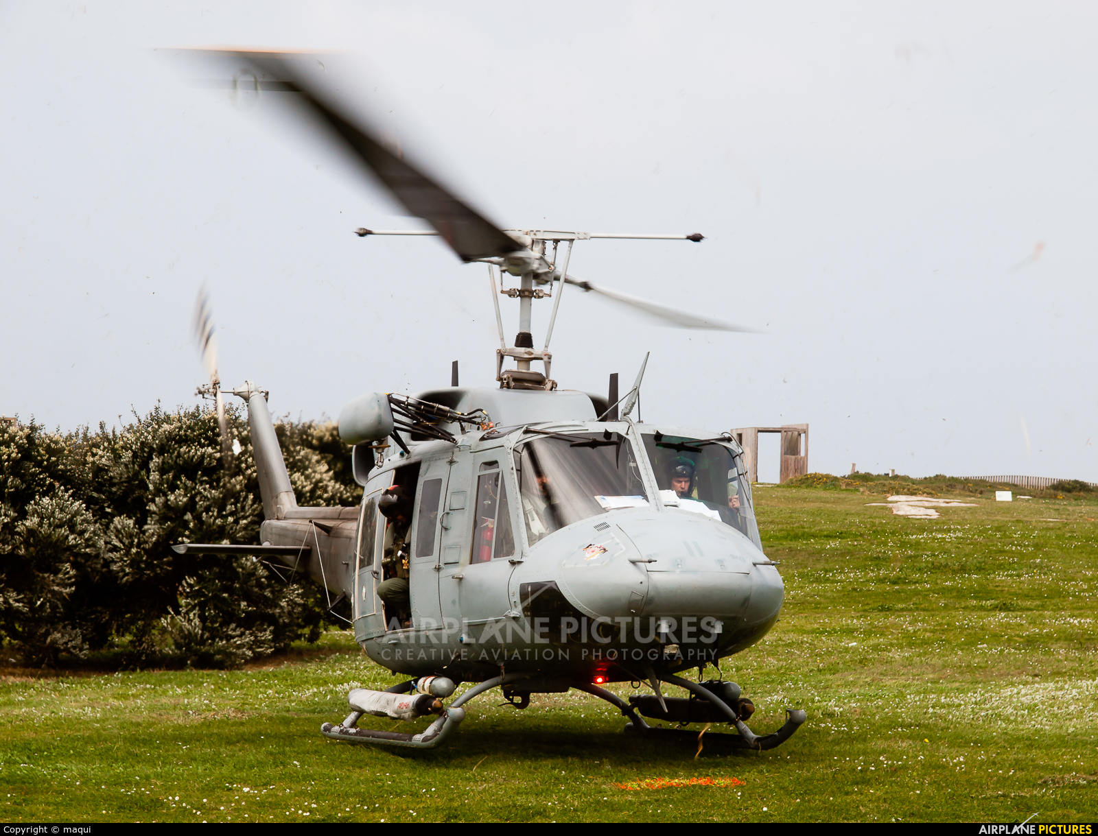 Spain - Navy HA.18-7 aircraft at La Coruña - Torre de Hercules