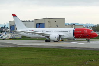 EI-LNH - Norwegian Air Shuttle Boeing 787-8 Dreamliner