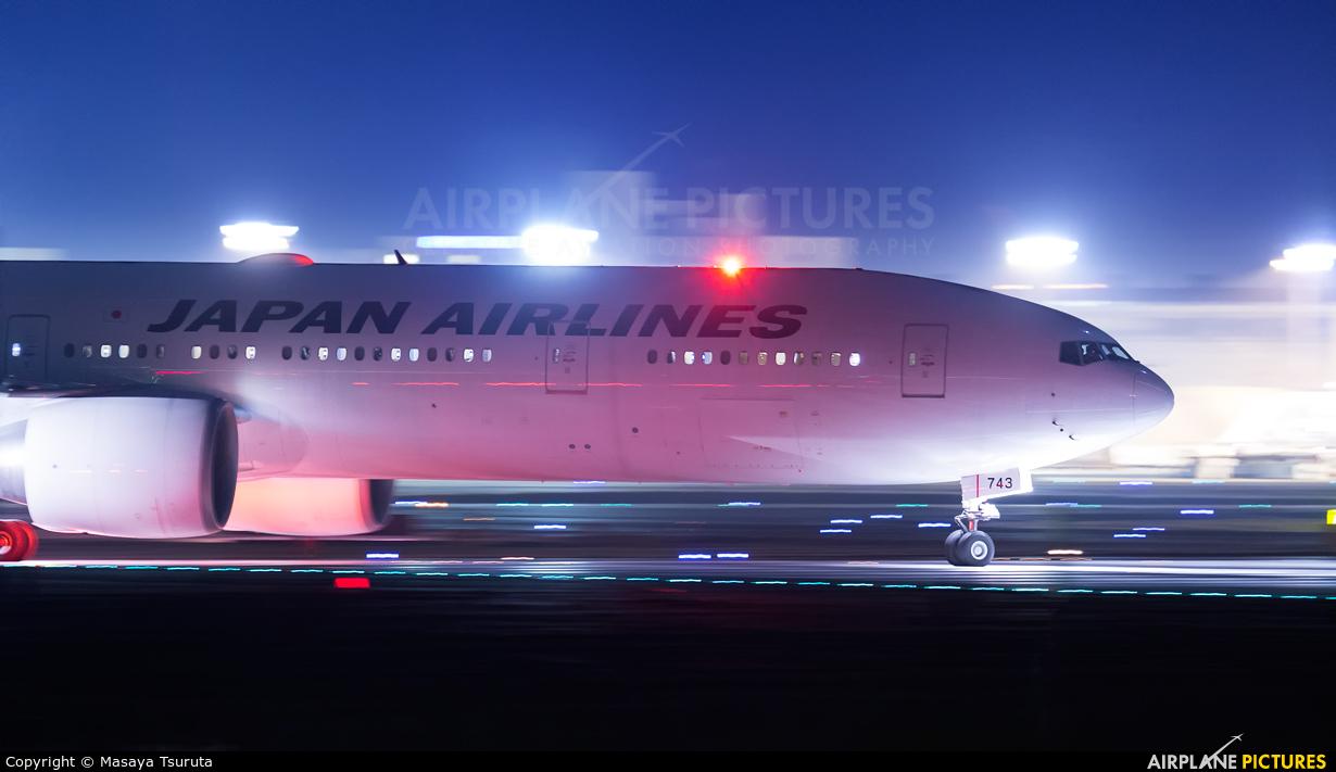 JAL - Japan Airlines JA743J aircraft at Tokyo - Narita Intl