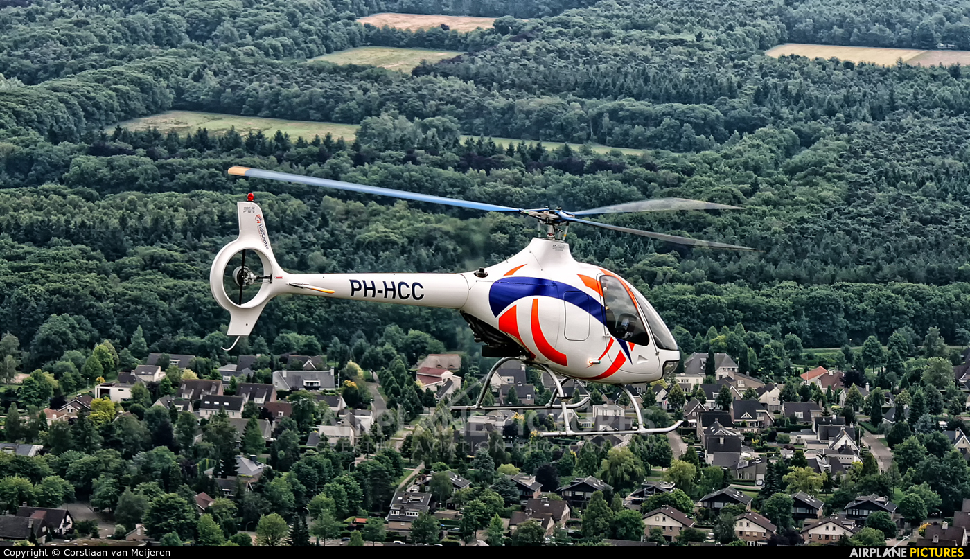 Helicentre PH-HCC aircraft at In Flight - Netherlands
