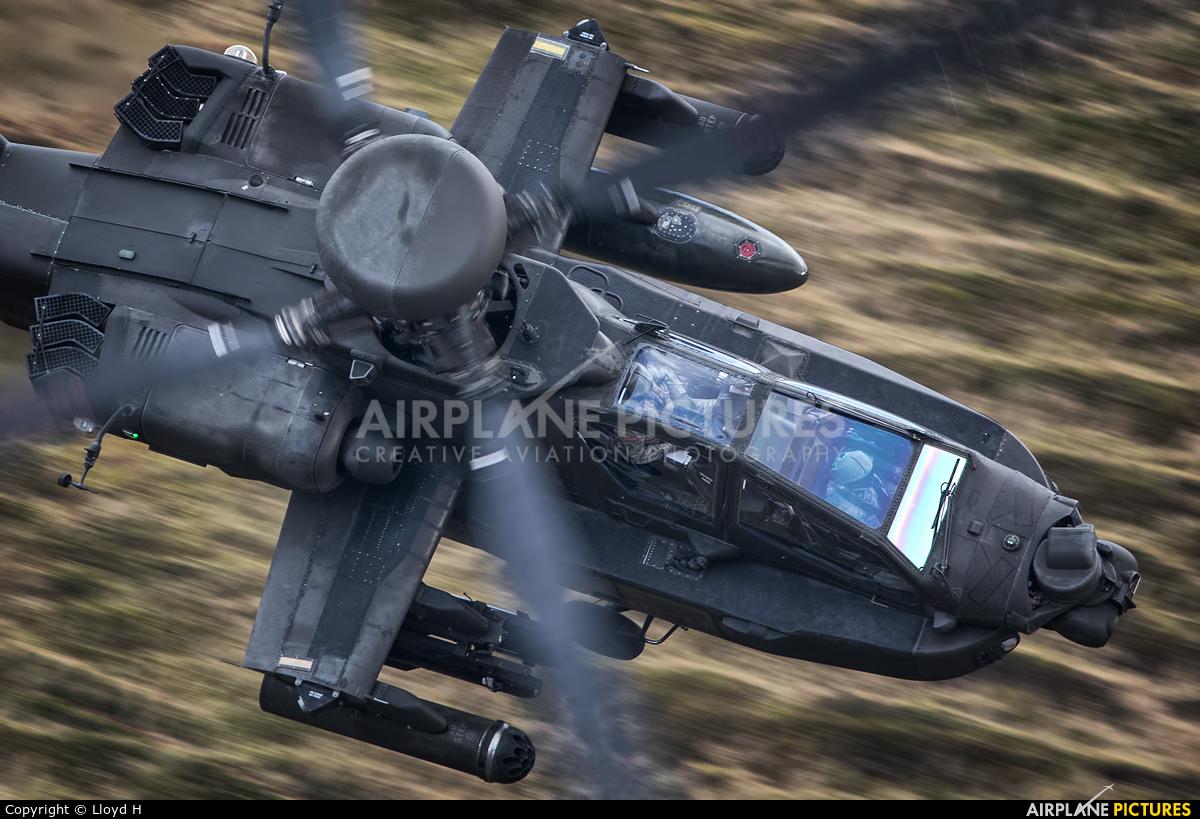 UK - Army Air Corps - aircraft at Machynlleth LFA7