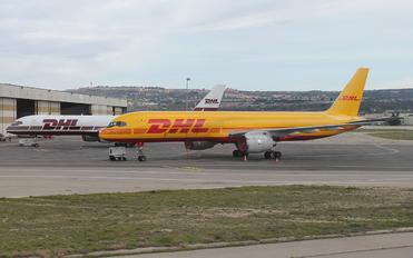 G-BIKP - DHL Cargo Boeing 757-200F