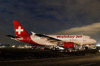 HB-JOH - Holiday Jet Airbus A319