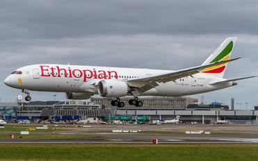 ET-ASG - Ethiopian Airlines Boeing 787-8 Dreamliner