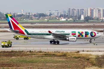 EI-EJM - Alitalia Airbus A330-200