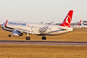 TC-JSG - Turkish Airlines Airbus A321 aircraft