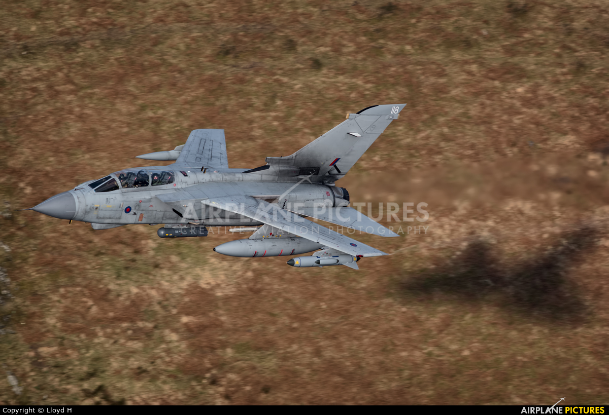 Royal Air Force ZG705 aircraft at Machynlleth LFA7