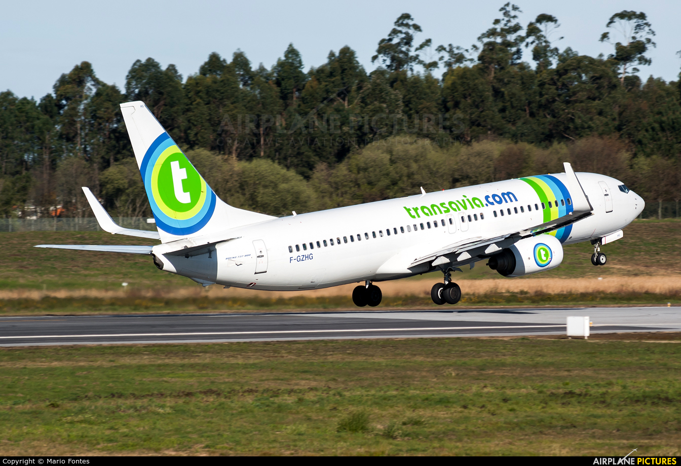 f gzhg transavia france boeing 737 800 at porto photo id 537945 airplane. Black Bedroom Furniture Sets. Home Design Ideas