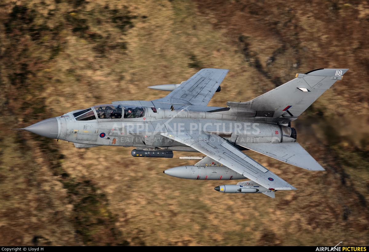 Royal Air Force ZG705 aircraft at Machynlleth LFA7