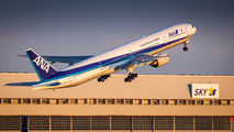 JA757A - ANA - All Nippon Airways Boeing 777-300 aircraft