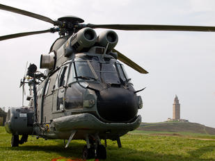 HT.21-01 - Spain - Air Force Aerospatiale AS332 Super Puma