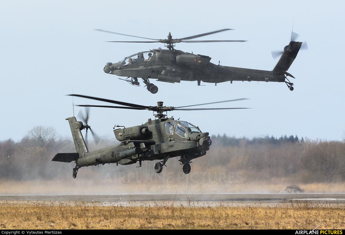 USA - Army 85551 aircraft at Aleksotas - S. Dariaus and S. Gireno
