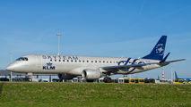 PH-EZX - KLM Cityhopper Embraer ERJ-190 (190-100) aircraft