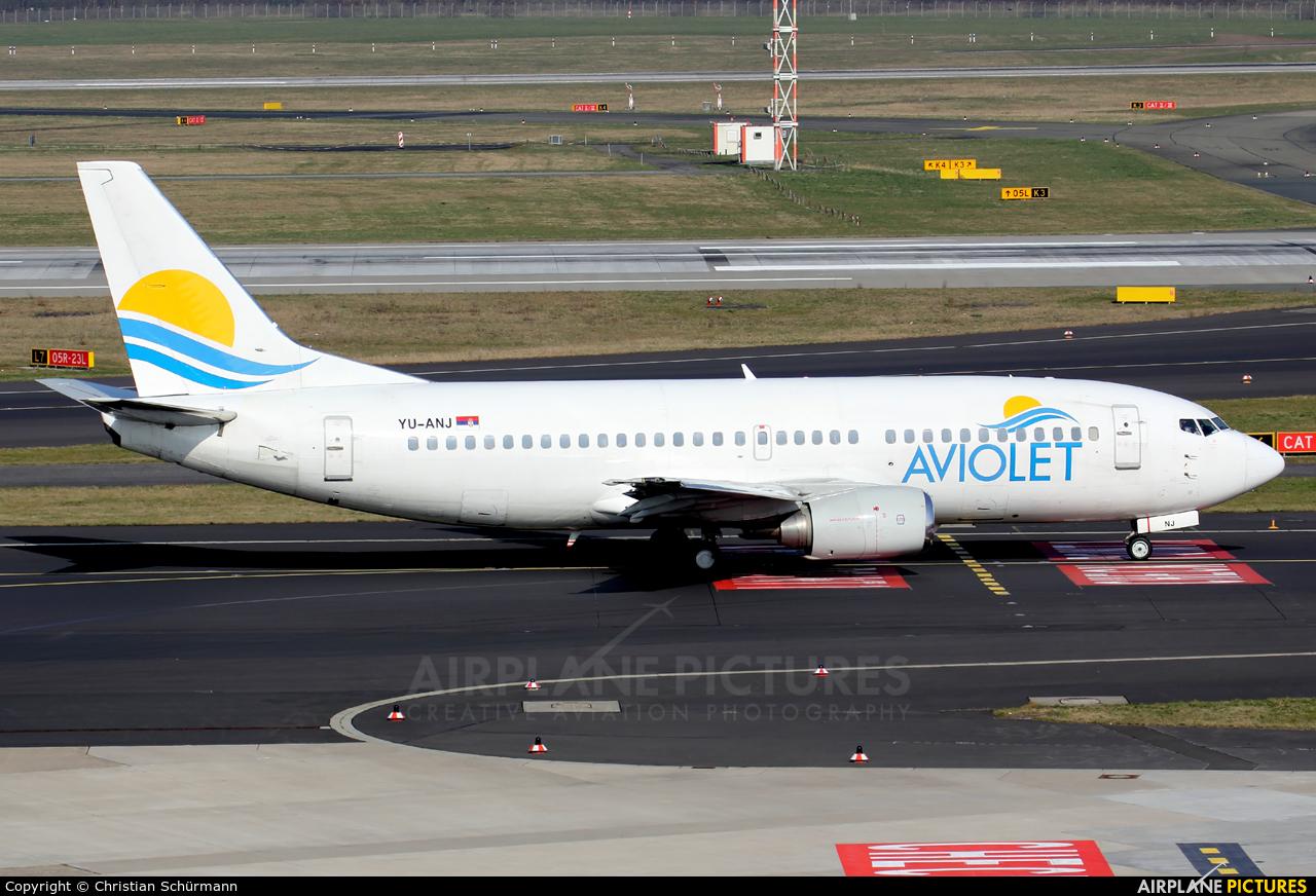 Aviolet YU-ANJ aircraft at Düsseldorf