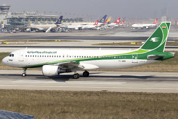 YI-ARB - Iraqi Airways Airbus A320