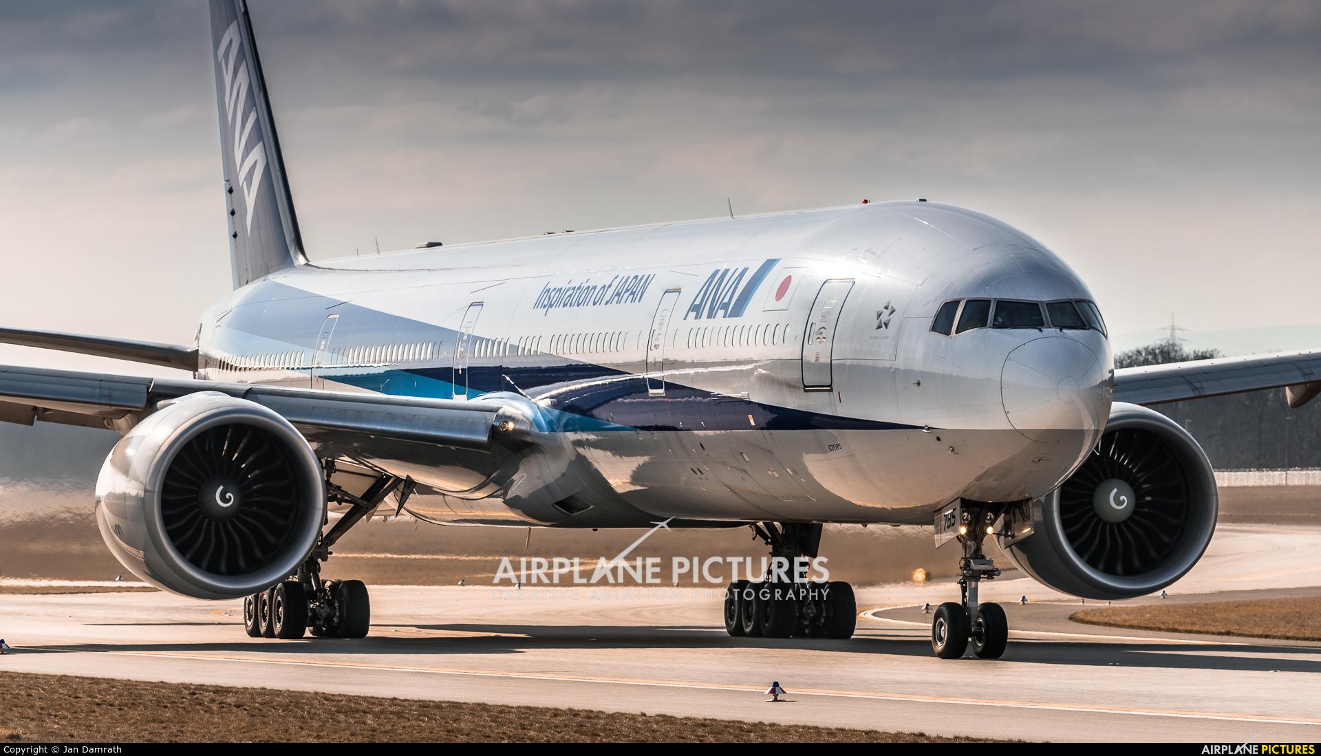 ANA - All Nippon Airways JA785A aircraft at Frankfurt