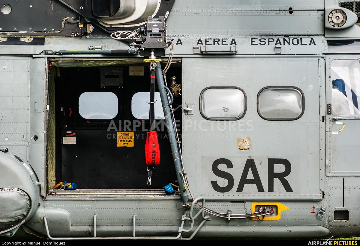 Spain - Air Force HT.21-01 aircraft at La Coruña - Torre de Hercules