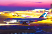 B-HUF - Cathay Pacific Boeing 747-400 aircraft