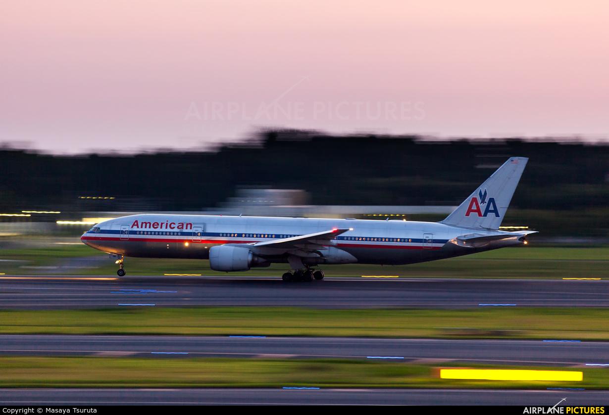 American Airlines N762AN aircraft at Tokyo - Narita Intl
