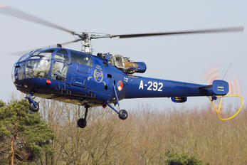 A-292 - Netherlands - Air Force Sud Aviation SA-316 Alouette III
