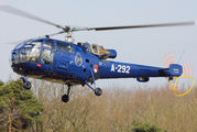 A-292 - Netherlands - Air Force Sud Aviation SA-316 Alouette III aircraft