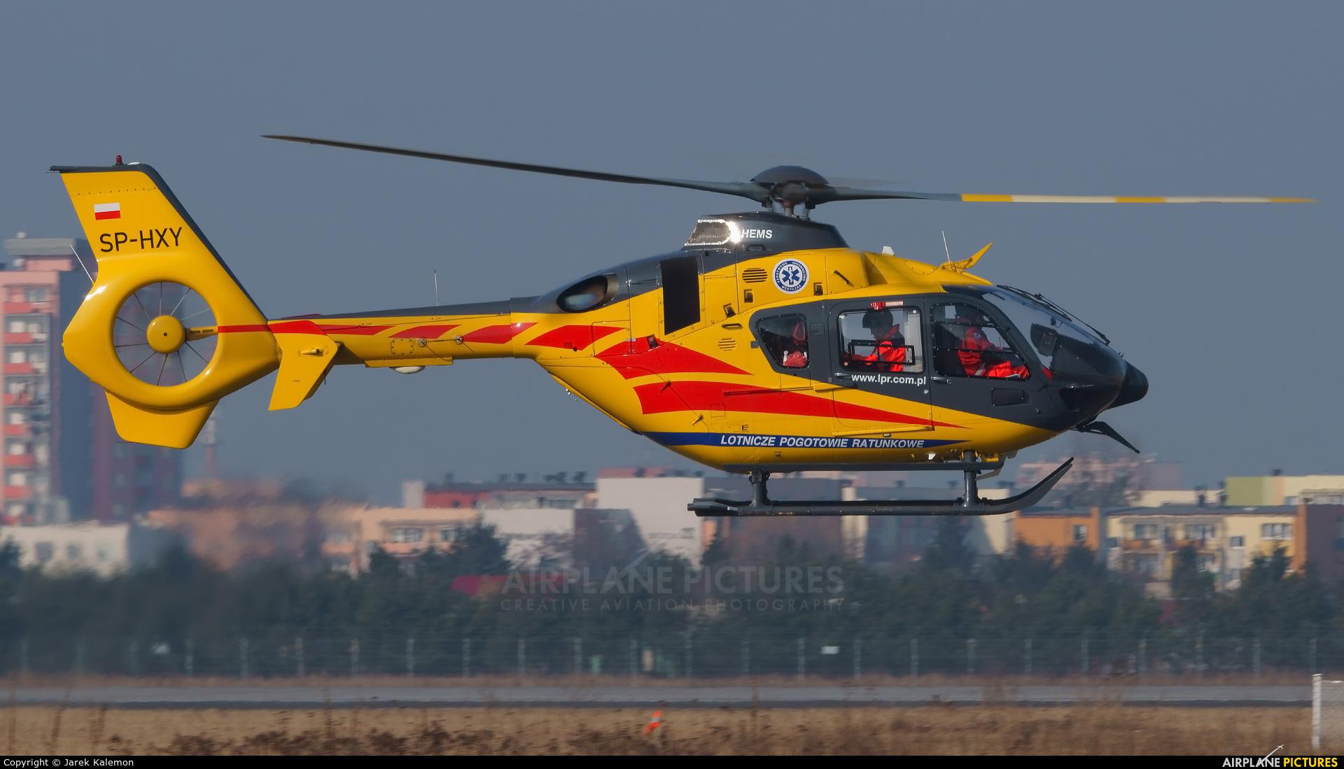 Polish Medical Air Rescue - Lotnicze Pogotowie Ratunkowe SP-HXY aircraft at Bydgoszcz - Szwederowo