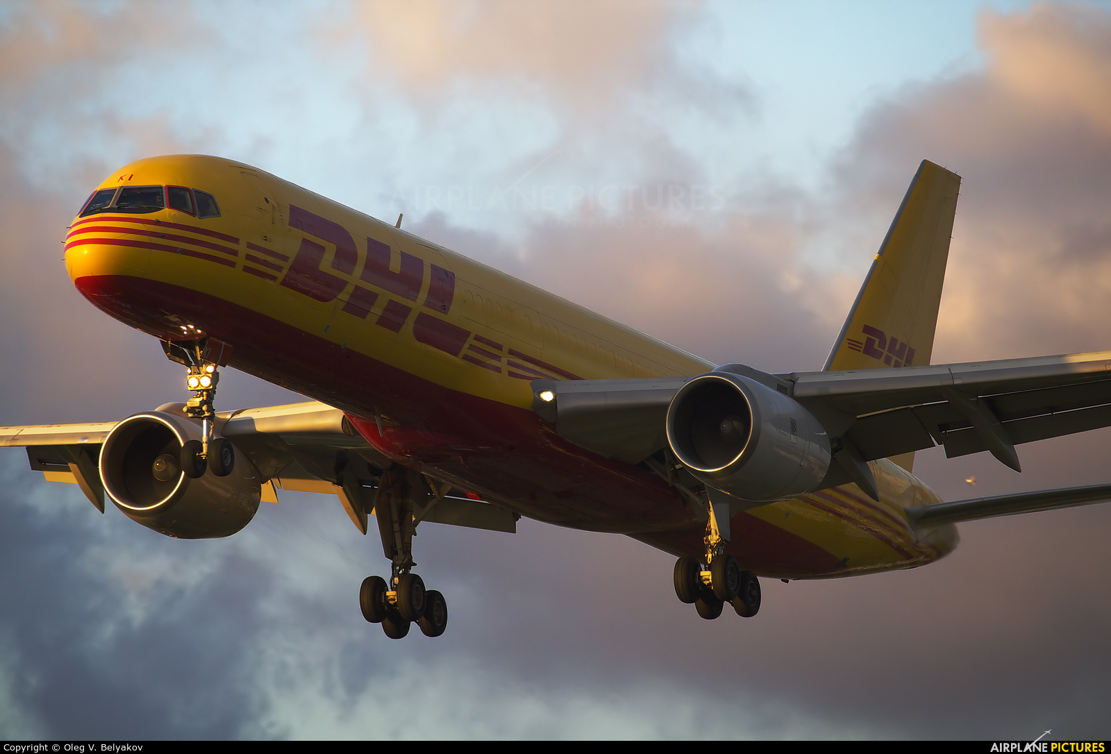 DHL Cargo G-BIKI aircraft at London - Heathrow