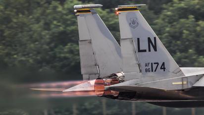86-174 - USA - Air Force McDonnell Douglas F-15C Eagle