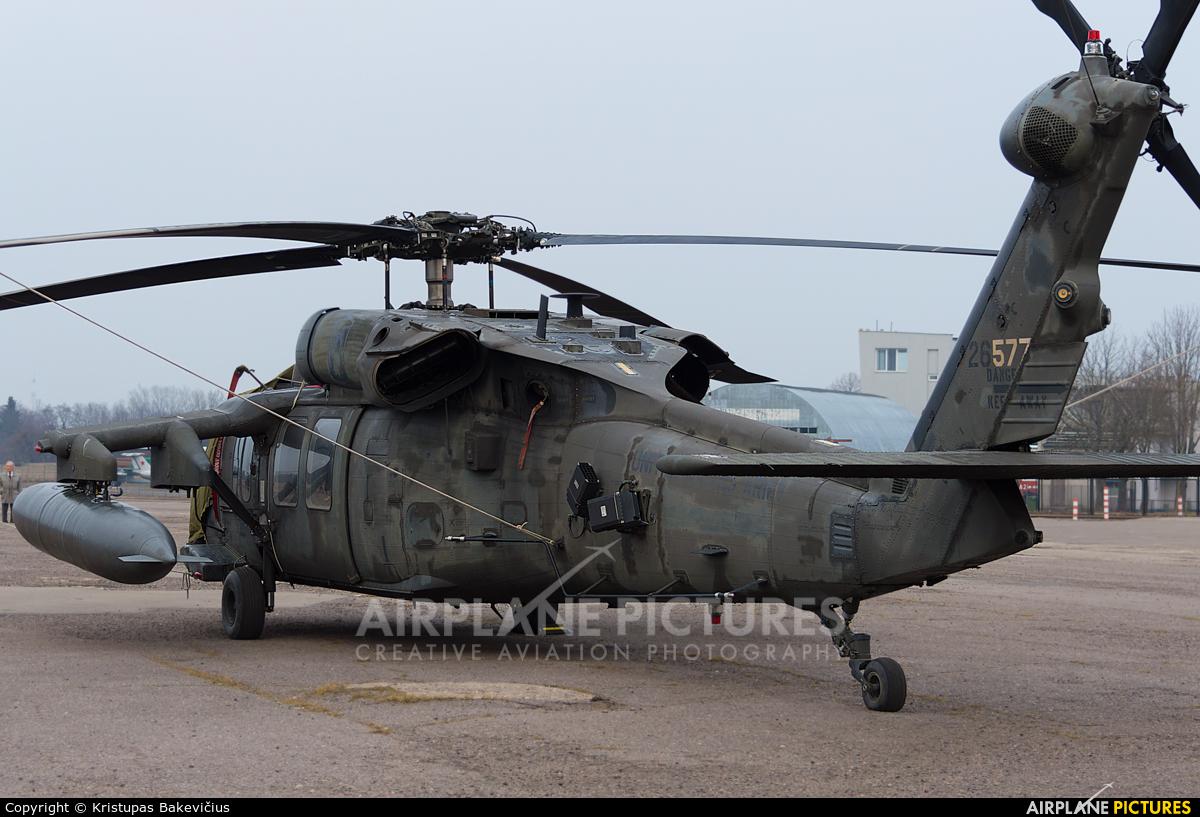 USA - Army 94-26577 aircraft at Aleksotas - S. Dariaus and S. Gireno