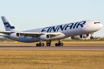 OH-LQF - Finnair Airbus A340-300