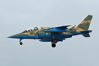 NAF477 - Nigeria - Air Force Dassault - Dornier Alpha Jet A