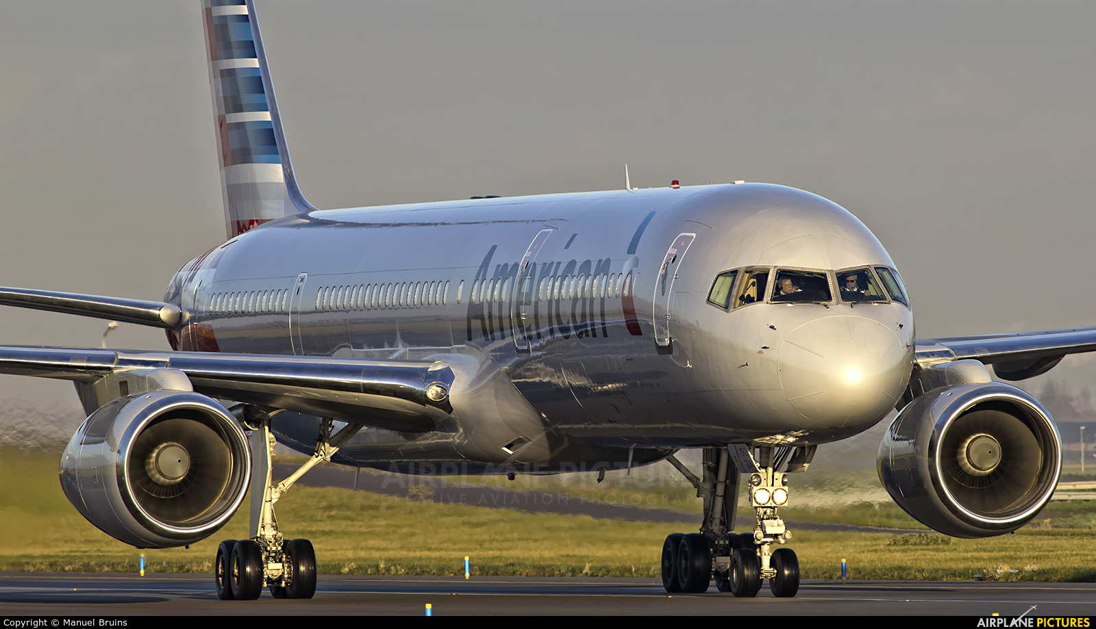 American Airlines N204UW aircraft at Amsterdam - Schiphol
