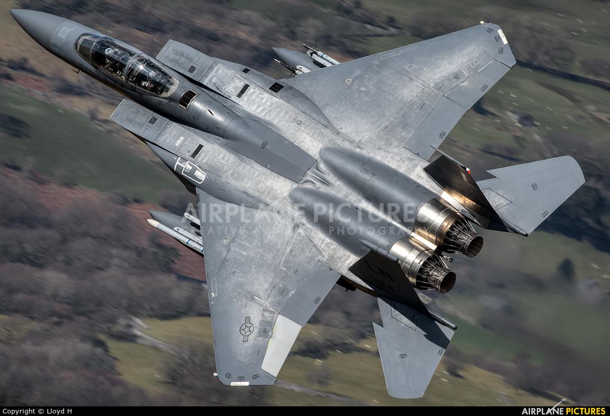 USA - Air Force 91-0324 aircraft at Machynlleth LFA7