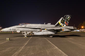 C.15-34 - Spain - Air Force McDonnell Douglas EF-18A Hornet