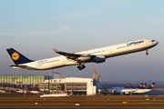D-AIHS - Lufthansa Airbus A340-600 aircraft