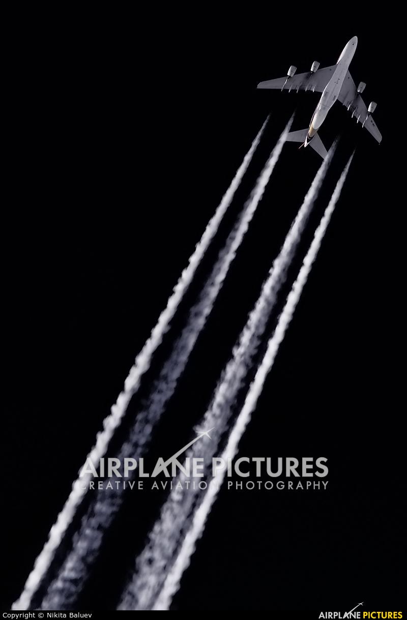 Singapore Airlines 9V-SKD aircraft at Kubinka