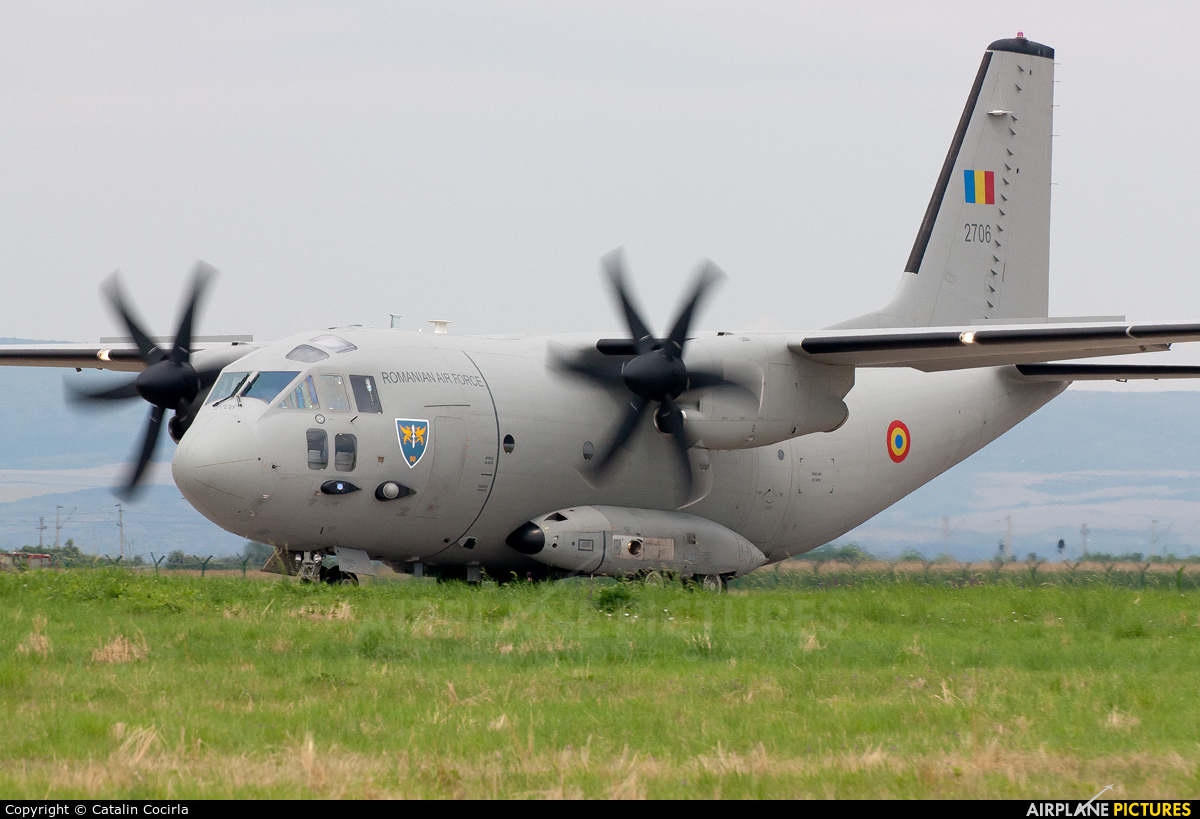 Romania - Air Force 2706 aircraft at Câmpia Turzii
