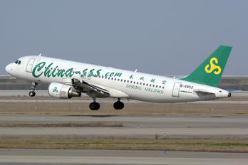 B-6852 - Spring Airlines Airbus A320