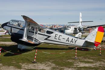 G-AEML - Fundación Infante de Orleans - FIO de Havilland DH. 89 Dragon Rapide