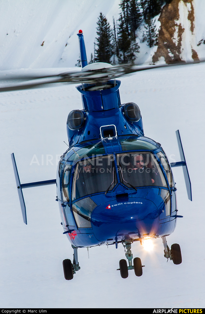 Swiss Helicopter HB-XQW aircraft at Courchevel
